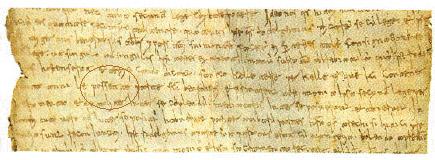 Primi documenti scritti in italiano volgare